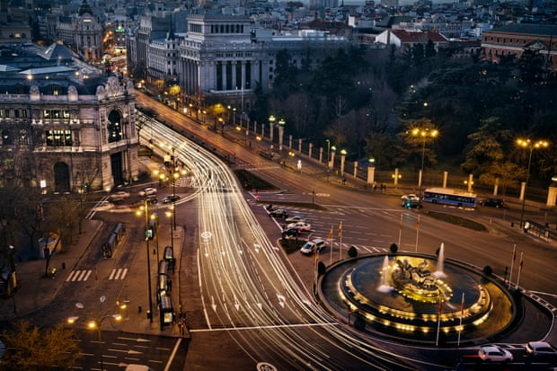 Madrid plans to pedestrianise the urban core by 2020.