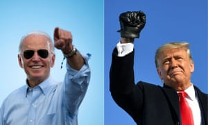 Joe Biden will be campaigning in Atlanta on Monday, the same day that Donald Trump will hold a rally in Dalton, Georgia.
