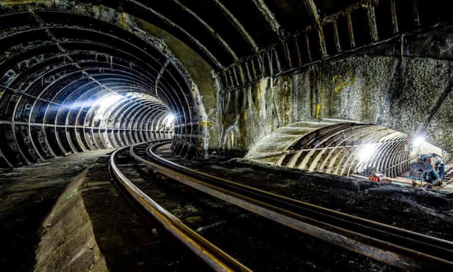 The Mail Rail tunnels