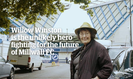 Willow Winston: the unlikely hero fighting to save Millwall – video