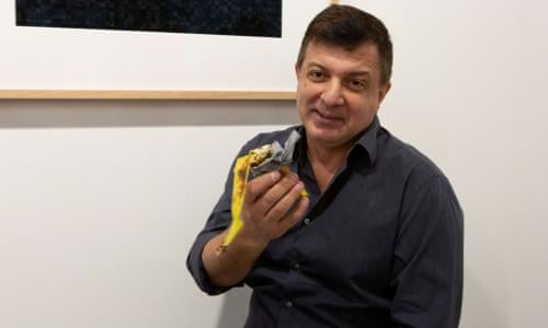 One Banana What Could It Cost 120 000 If It S Art Art Basel Miami The Guardian