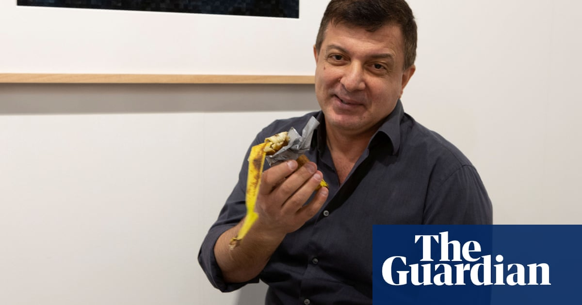 'It is something deeper': David Datuna on why he ate the $120,000 banana