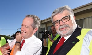 A proposed factional deal in Victoria would freeze out Kim Carr (right), who is a staunch supporter of Bill Shorten.