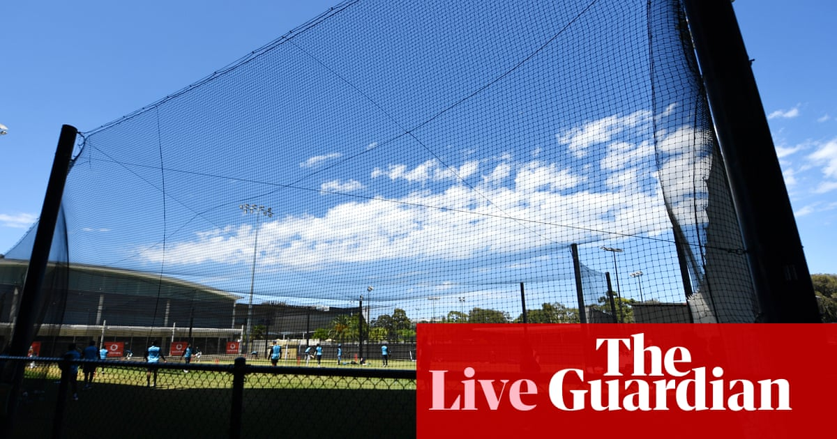 Australia v India: first Test, day two – live!