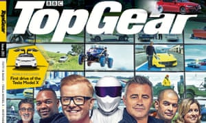 Top Gear magazine saw big drops in circulation in the first half of the year