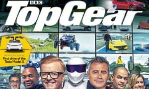 Top Gear magazine: UK circulation fell below 100,000.