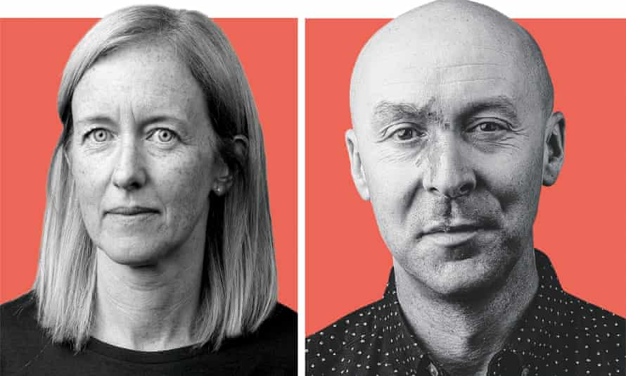 Chris Brookmyre and his wife, Dr Marisa Haetzman – AKA Ambrose Parry.