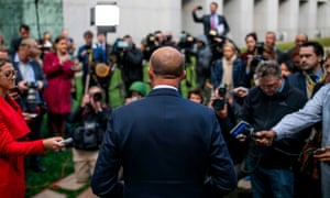 Peter Dutton faces the media on Tuesday after losing a leadership challenge. The Australian Financial Review writes that the former home affairs minister has failed to demonstrate why he would do any better than Turnbull as PM.