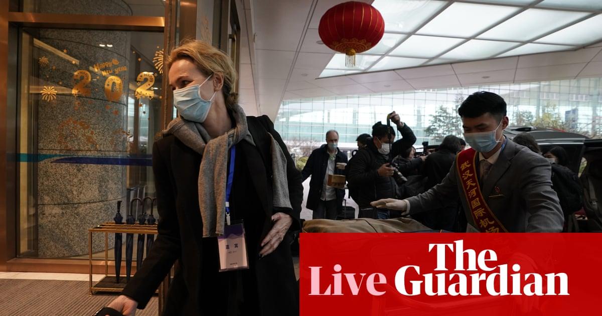 Coronavirus live news: WHO 'to scrap' interim Wuhan report; UK investigating new variant