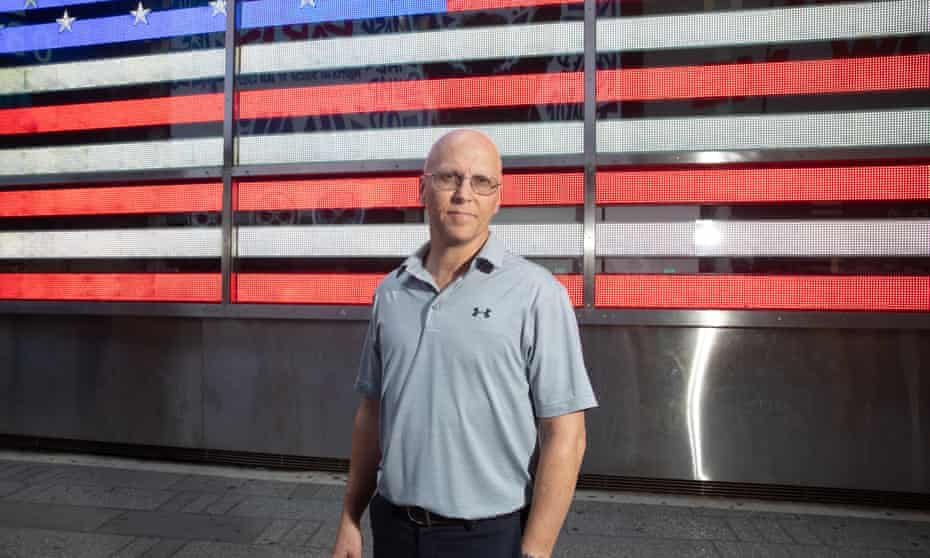 John Mormando is trying to bring awareness to breast cancer he believes he contracted while working close to Ground Zero.