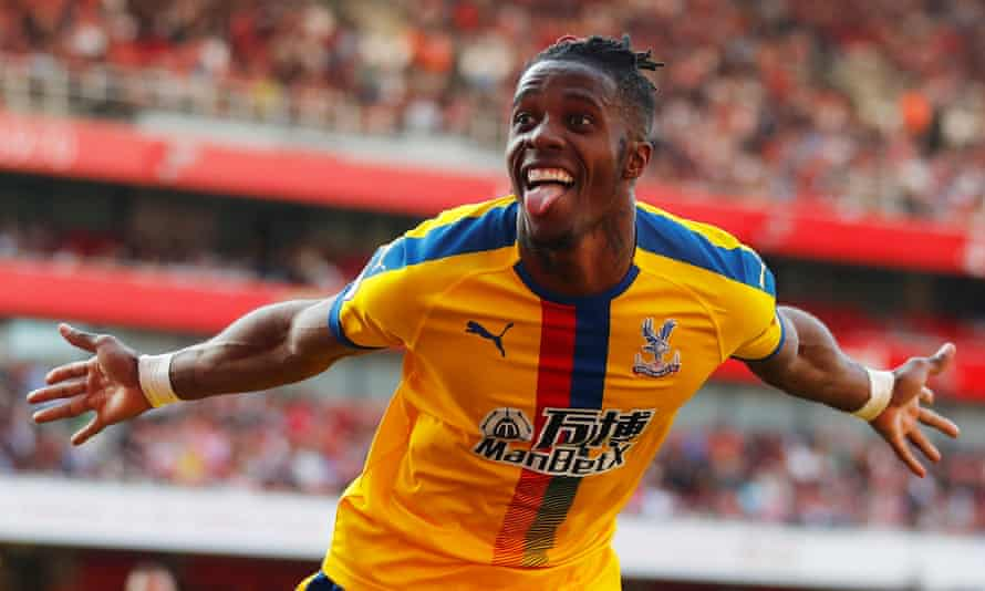 Wilfried Zaha has been linked with Crystal Palace.