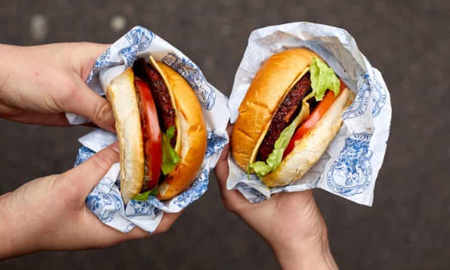 Leon's love burger