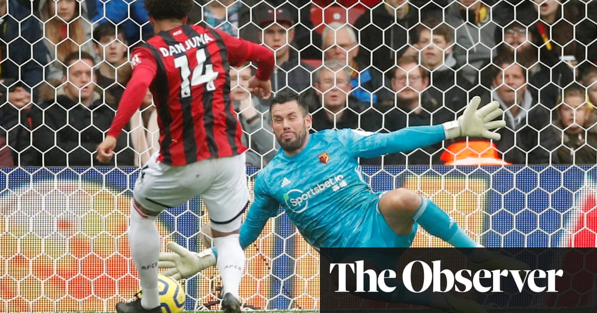Ben Foster keeps Bournemouth at bay but Watford's winless run drags on