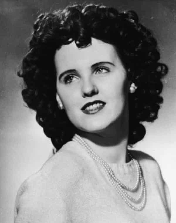 Elizabeth Short, known as the 'Black Dahlia', was murdered in 1947.