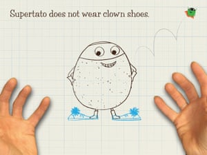 How to draw Supertato11