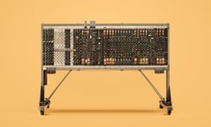 The processor from the Pilot ACE computer, built in the early 50s from a design by Alan Turing.