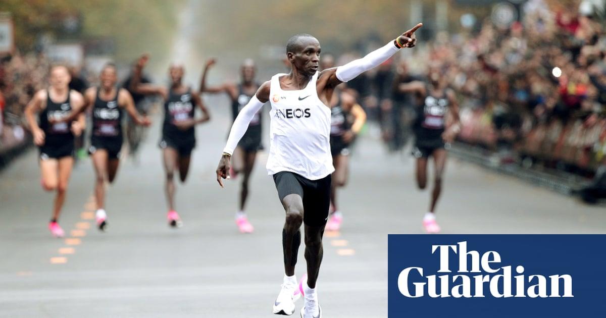 Eliud Kipchoge denies platform Nike shoes violate the spirit of sport