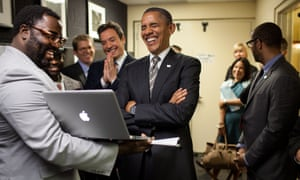 Barack Obama and Jimmy Fallon