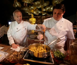 Wolfgang Puck and Eric Klein.