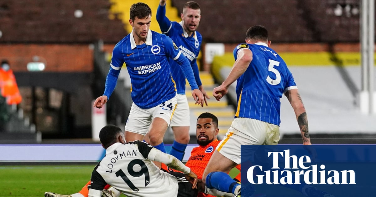 Lallana comes close for Brighton but VAR steps in to save Fulham