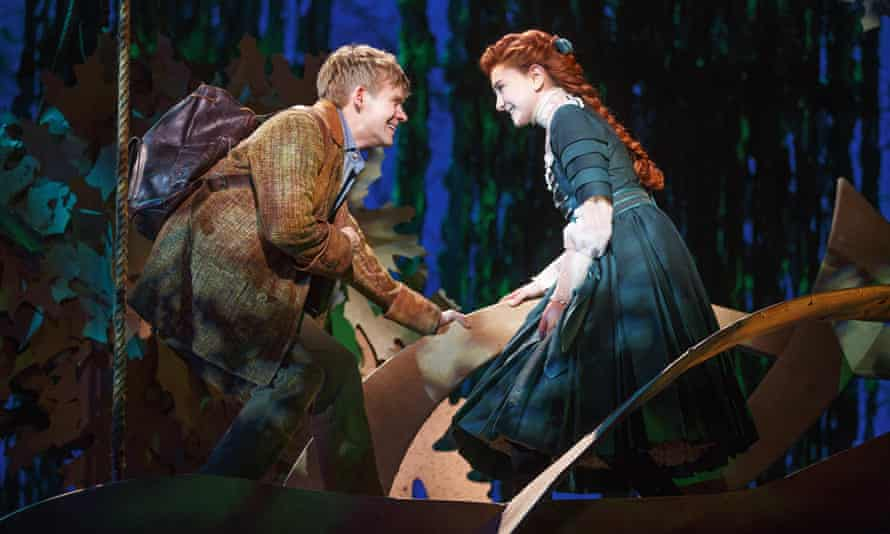 Passably rebellious: Andrew Keenan-Bolger and Sarah Charles Lewis.