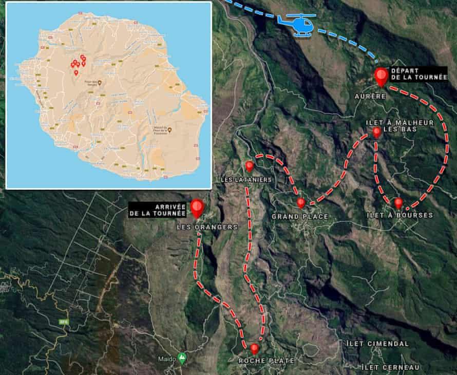 René-Claude's route