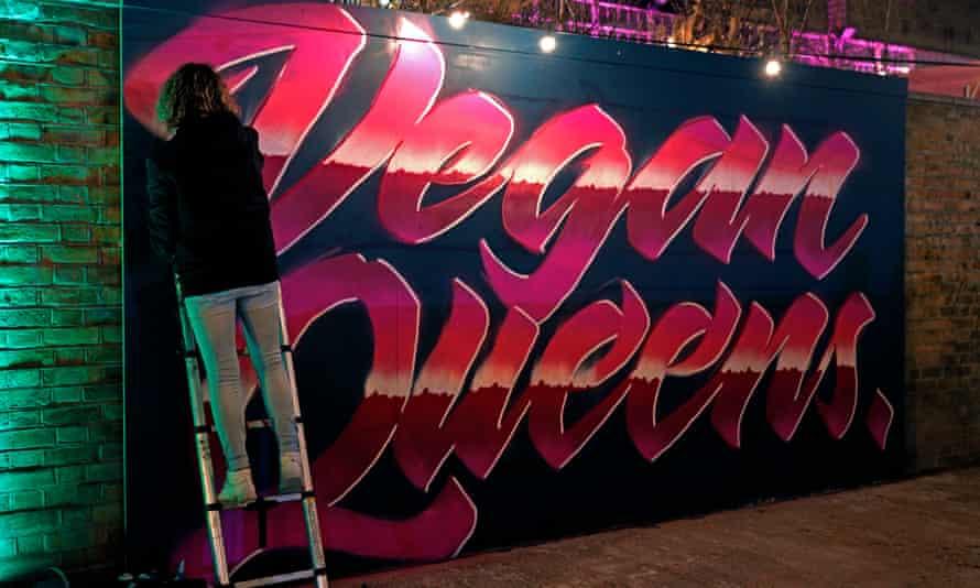 Vegan Nights at the Truman Brewery, Brick Lane.