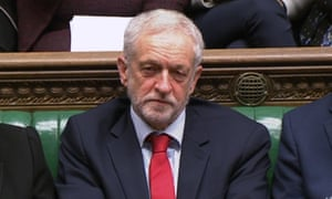 The Labour party leader, Jeremy Corbyn