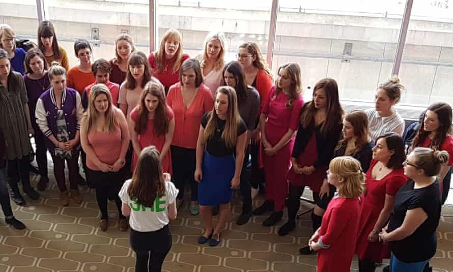 The SHE Choir.