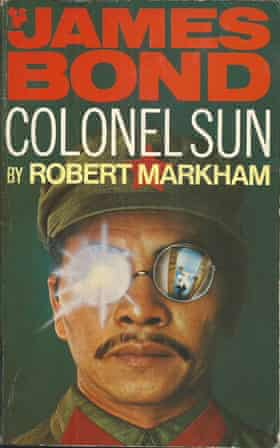 The Pan Books cover of Colonel Sun by Robert Markham - the pseudonym of Kingsley Amis