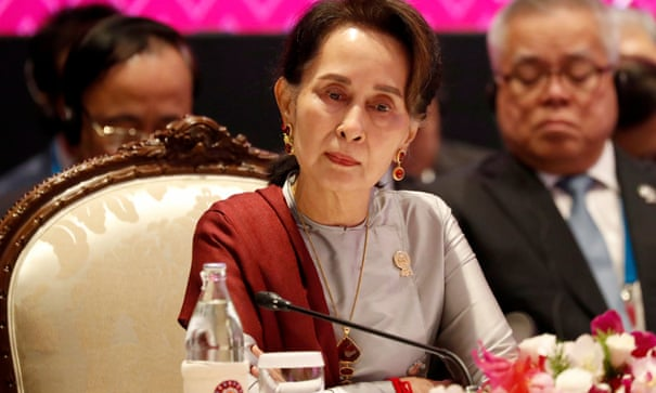 Myanmar's Aung San Suu Kyi faces first legal action over Rohingya crisis | Aung San Suu Kyi | The Guardian