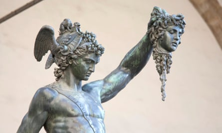 Perseus holds the head of Medusa … the image of Donald Trump as Perseus holding the decapitated head of Hillary Clinton did the rounds in the 2016 presidential election campaign.