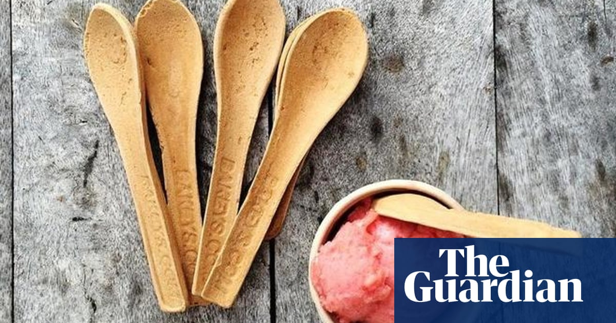 Edible cutlery company wants us to eat our way out of