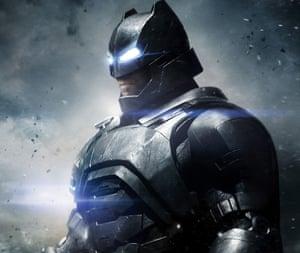 Soldering on … Ben Affleck as Batman.