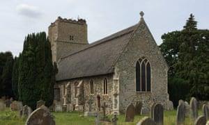Salhouse church in Norfolk