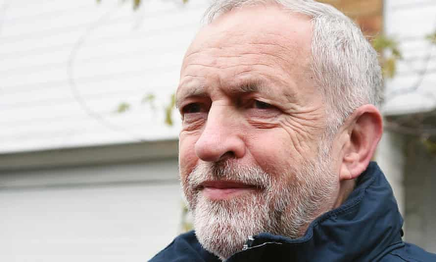 Labour Leader Jeremy Corbyn: a victim of forces beyond his control.