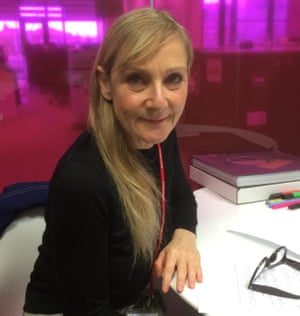 Lesley Sharp at The Guardian offices for a webchat
