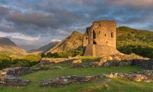 Castell Dolbadarn, Llanberis, Gwynedd