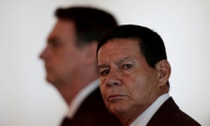 Brazil's vice president Hamilton Mourão's remarks about former astrologer Olavo de Carvalho ignited the online feud.