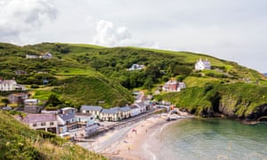 Llangrannog in Ceredigion has received both a Blue Flag and Seaside Award.