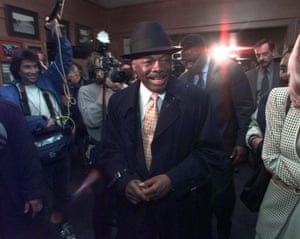 San Francisco mayor Willie Brown in 1999.