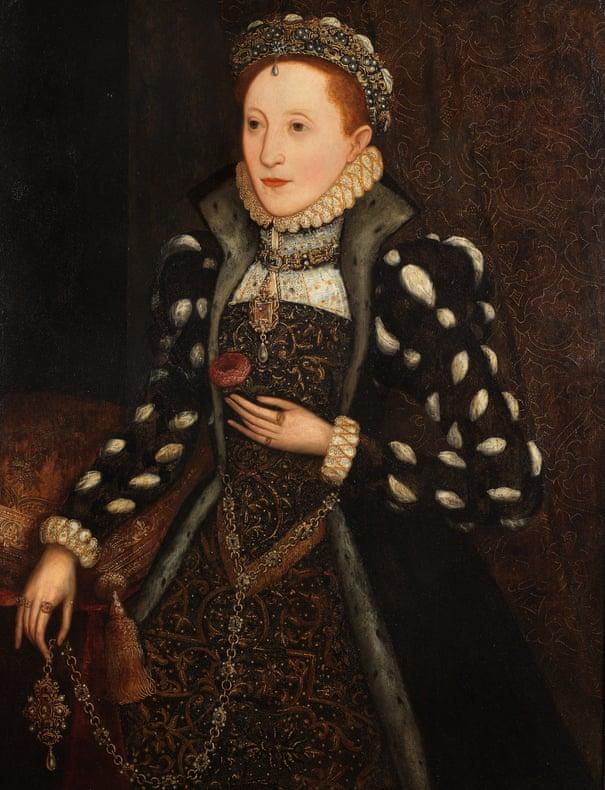 Long-lost overpainted portrait reveals young Queen Elizabeth I