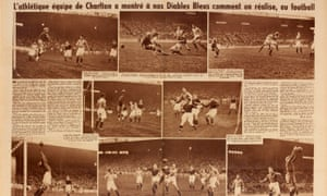 Coverage of the game in the French sports magazine Match.
