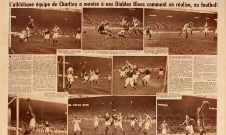 The forgotten story of ... when Charlton played France and won 5-2