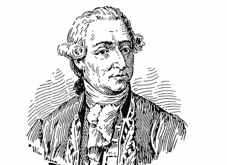 Drawing of Francisco Javier de Balmis