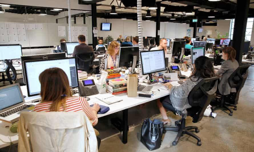 The Guardian Australia office in Sydney