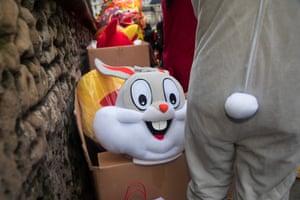 A rabbit costume