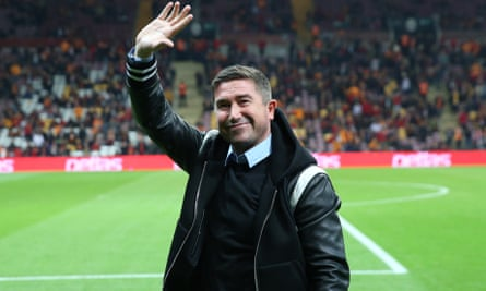 Harry Kewell, pictured paying a trip to a Galatasaray home game last November.