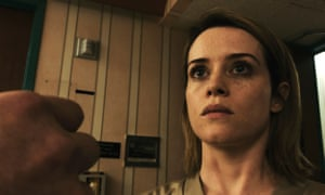 """""""Bracing spite and nastiness"""": Claire Foy in Unsane."""