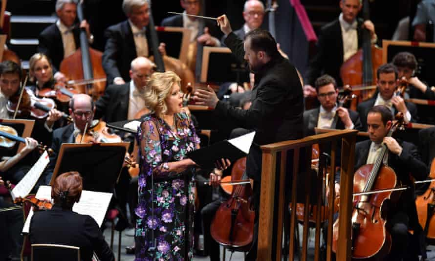 Mezzo-soprano Susan Graham and Andris Nelsons